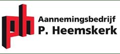 Aannemingsbedrijf P. Heemskerk logo
